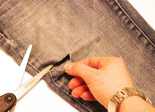 Как сделать манжет из ткани на шортах