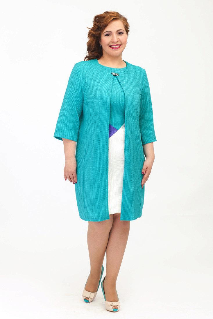 Платье прямого кроя без рукавов 170