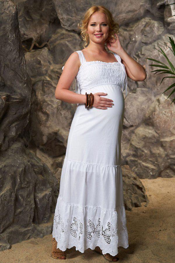 Для беременных сарафан из хлопка 68