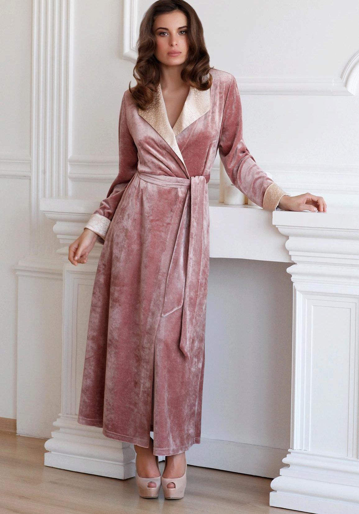 ba88a50e6b4 Модные халаты 2019 (306 фото)  красивые женские