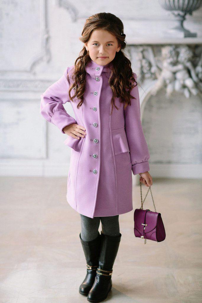 модели пальто фото для девочек
