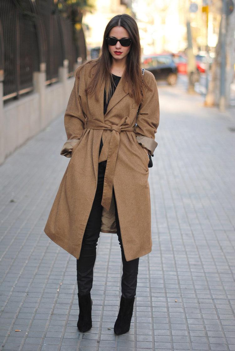 Пальто из верблюжьей шерсти новые фото