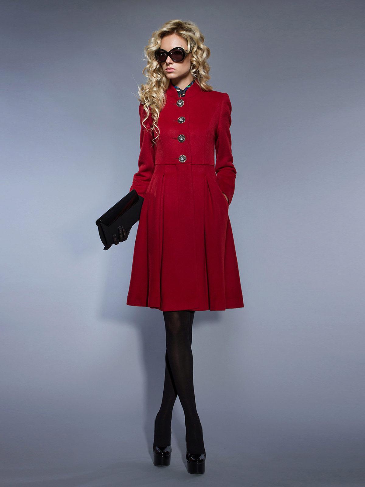 Как из пальто сделать платье