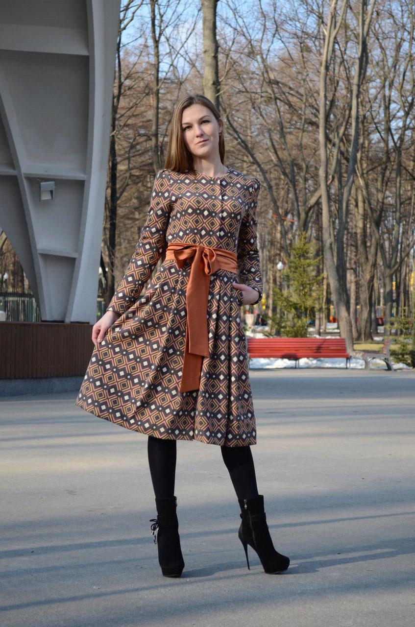 Пальто Как Платье Купить