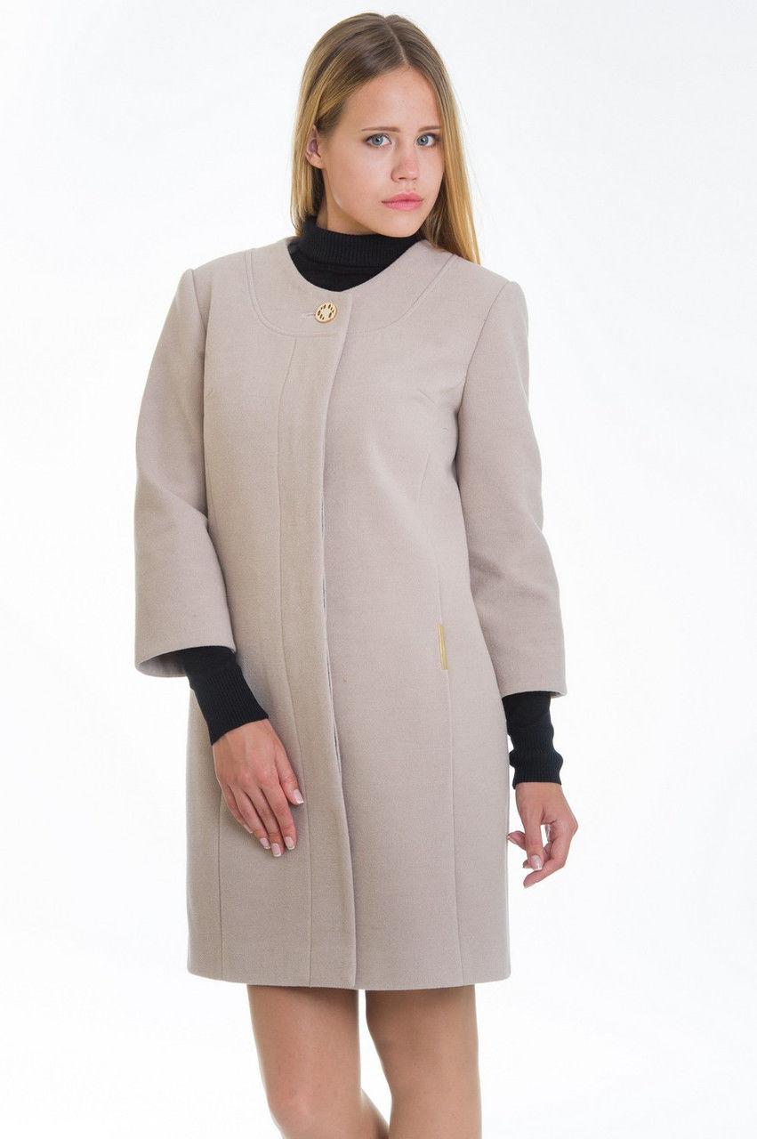 Женские пальто с рукавом три четверти