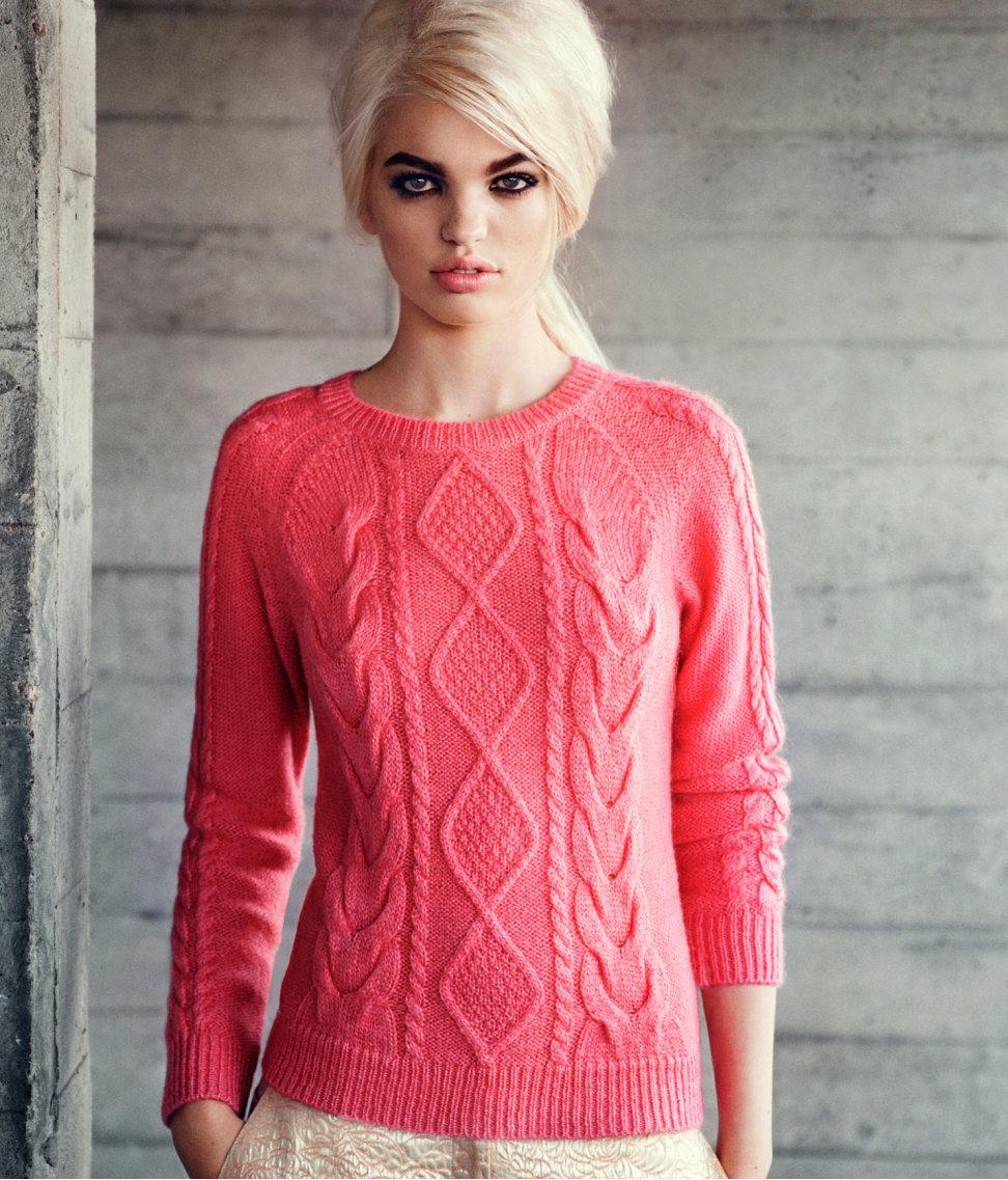 Модели вязания кофточек для девушек