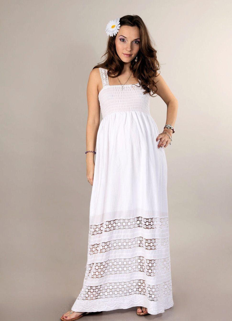 Летние сарафаны и платья для беременных