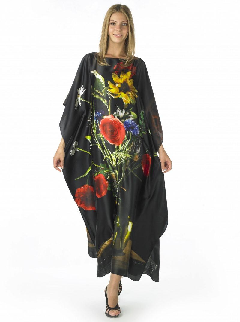 Платье Туника Из Шелка С Доставкой