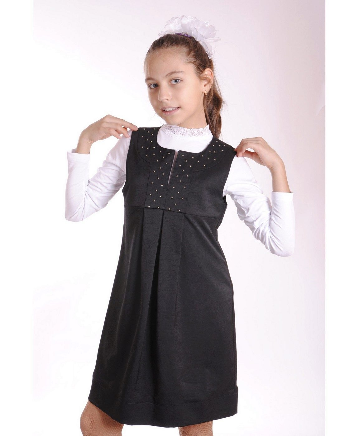Школьные сарафаны для девочек 7 лет сшить 836