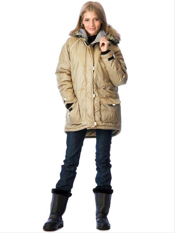 куртка зимняя аляска женская фото