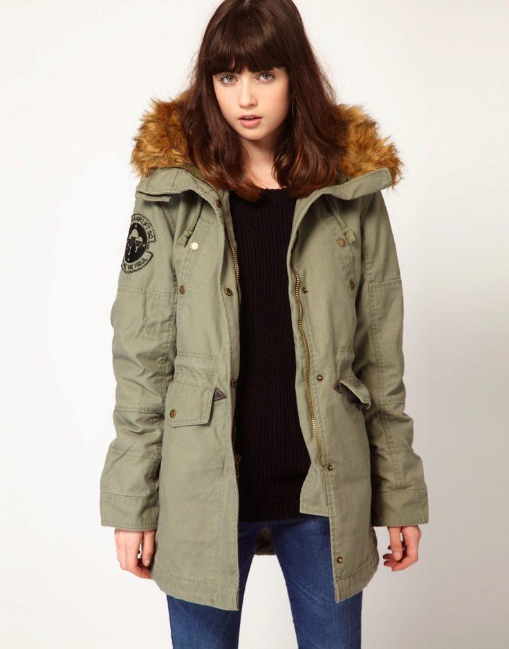 Куртки парка женские зимние