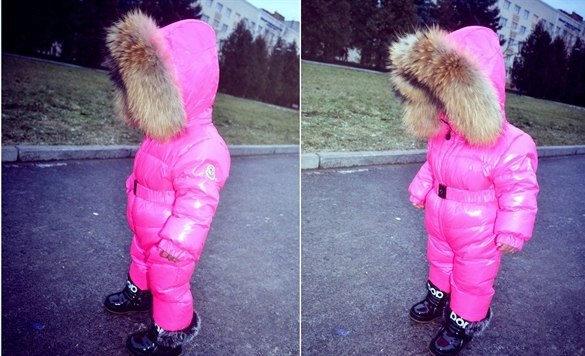 8667d6a7b787 Детский комбинезон Moncler (65 фото): зимний пуховый полукомбинезон Монклер  для девочек, отзывы