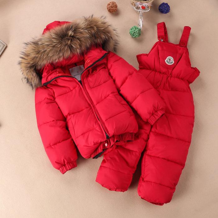 Детский комбинезон Moncler (65 фото)  зимний пуховый полукомбинезон ... 2f98a9b419a65