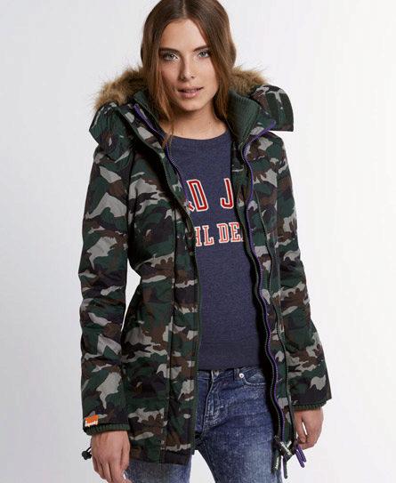 Куртки камуфляжные модные женские
