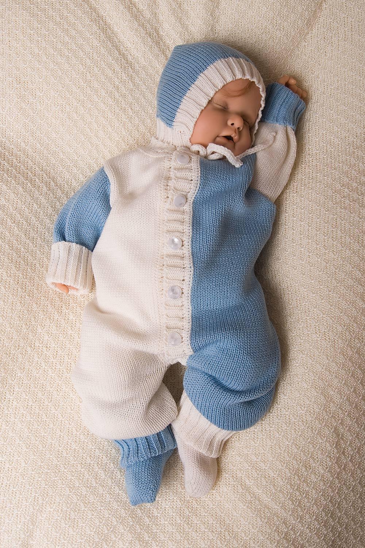 Вязаные комбинезоны для младенцев мальчиков своими руками 16