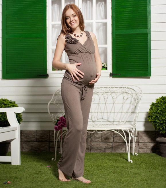 Комбинезон беременным летом