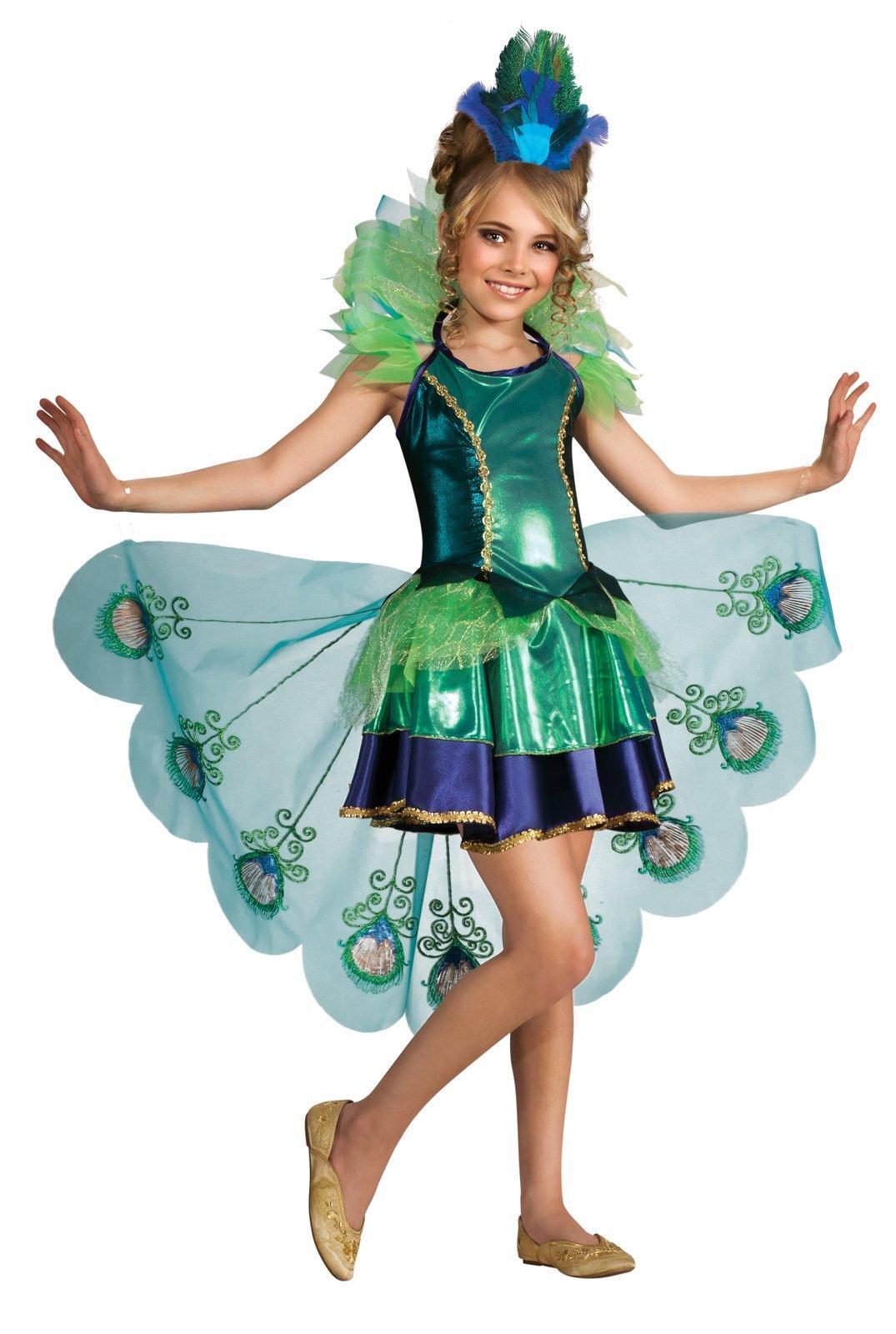 Красивые новогодние костюмы для девочек своими руками