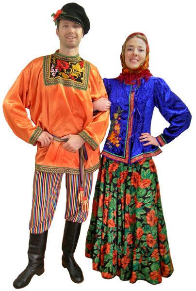 Русский народный костюм для девочки своими руками пошагово