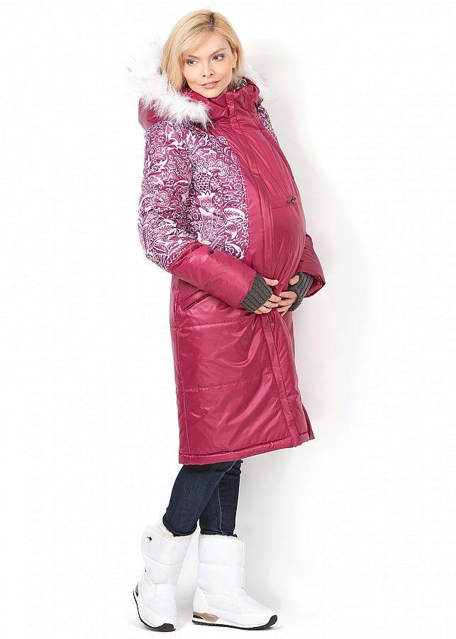 Куртка для беременных зимняя ай лав мам 19