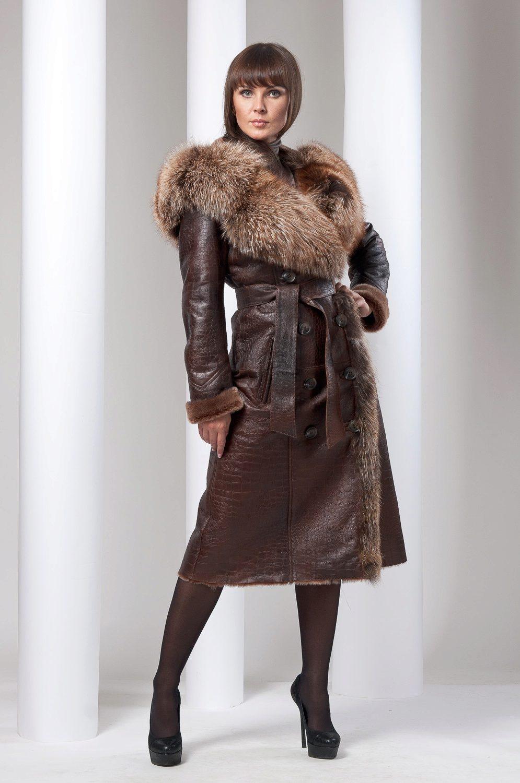Модные женские дубленки – 2019