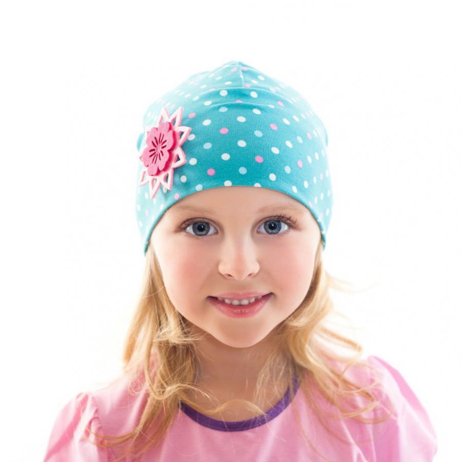 Трикотажная детская шапочка