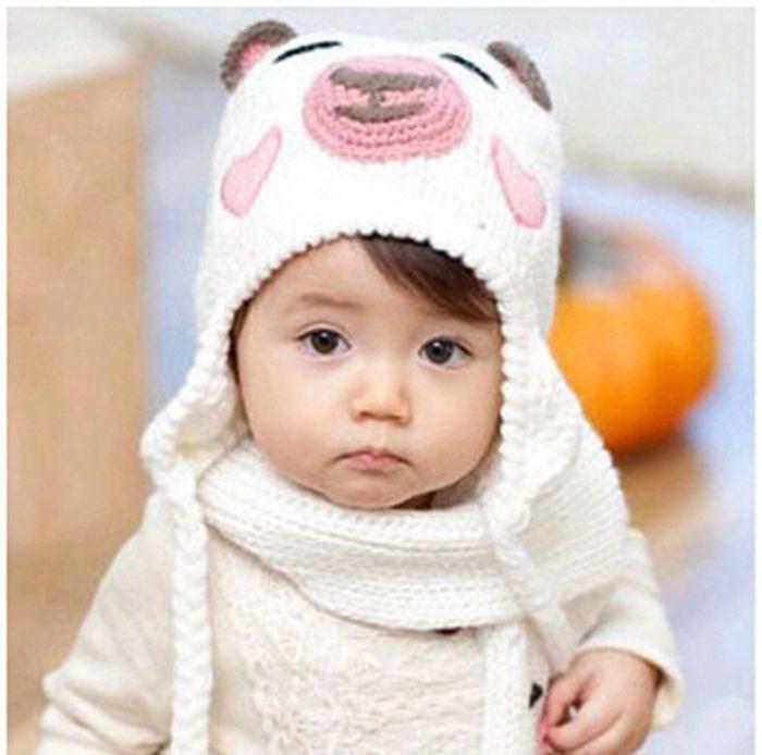 Вязание спицами шапочек на детей до года 528