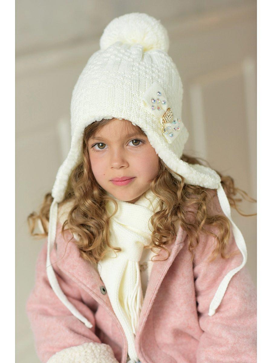 Вязание шапки детские