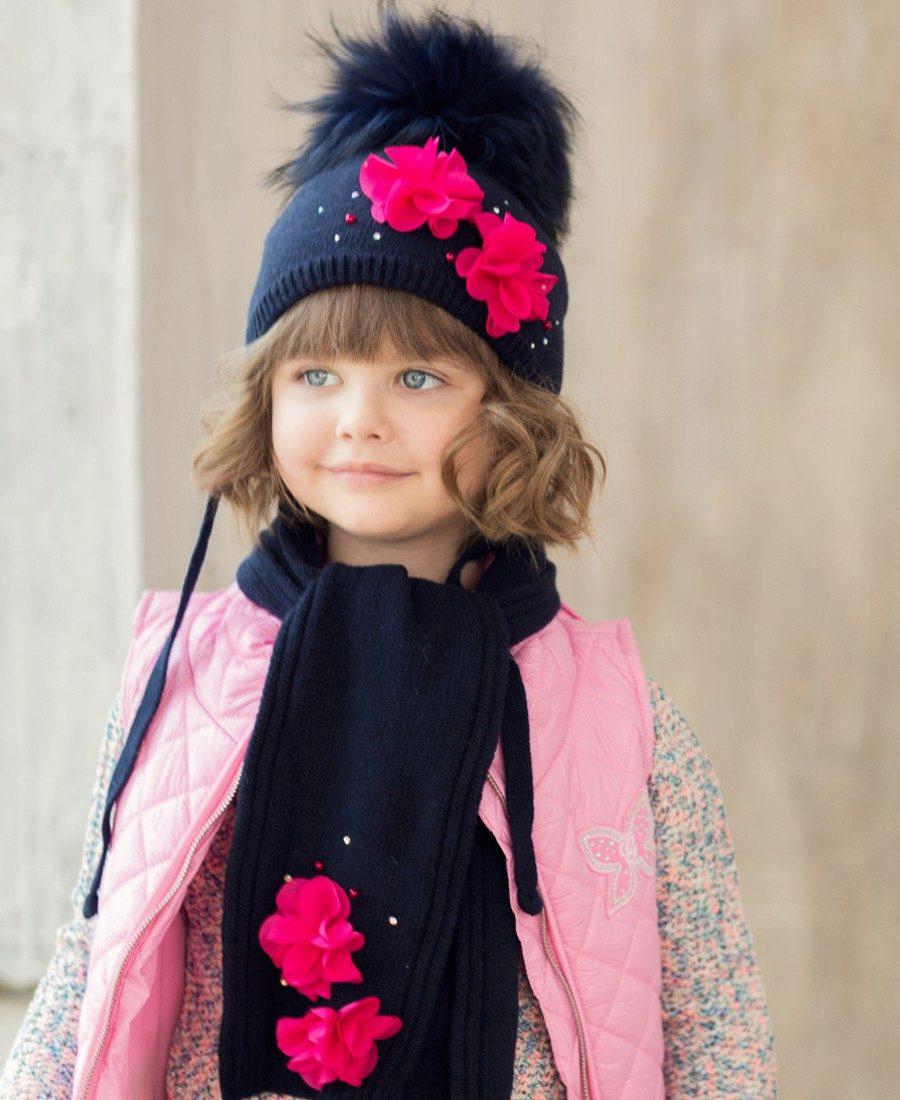 Вязание шапок для девочки 10 лет