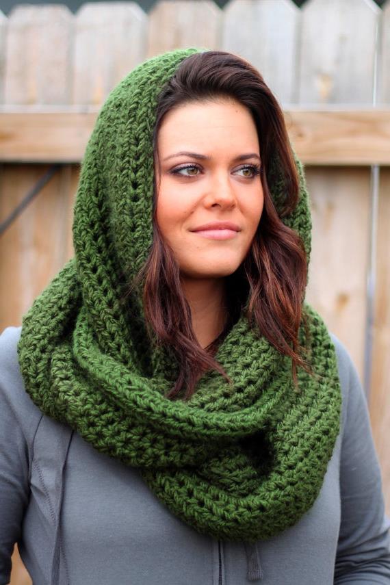 Как связать снуд хомут круговой шарф спицами
