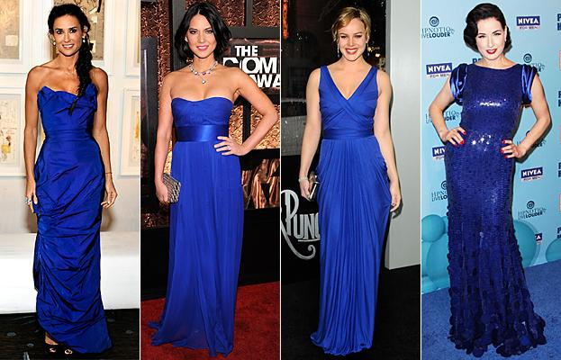 Прически под темно синие платье