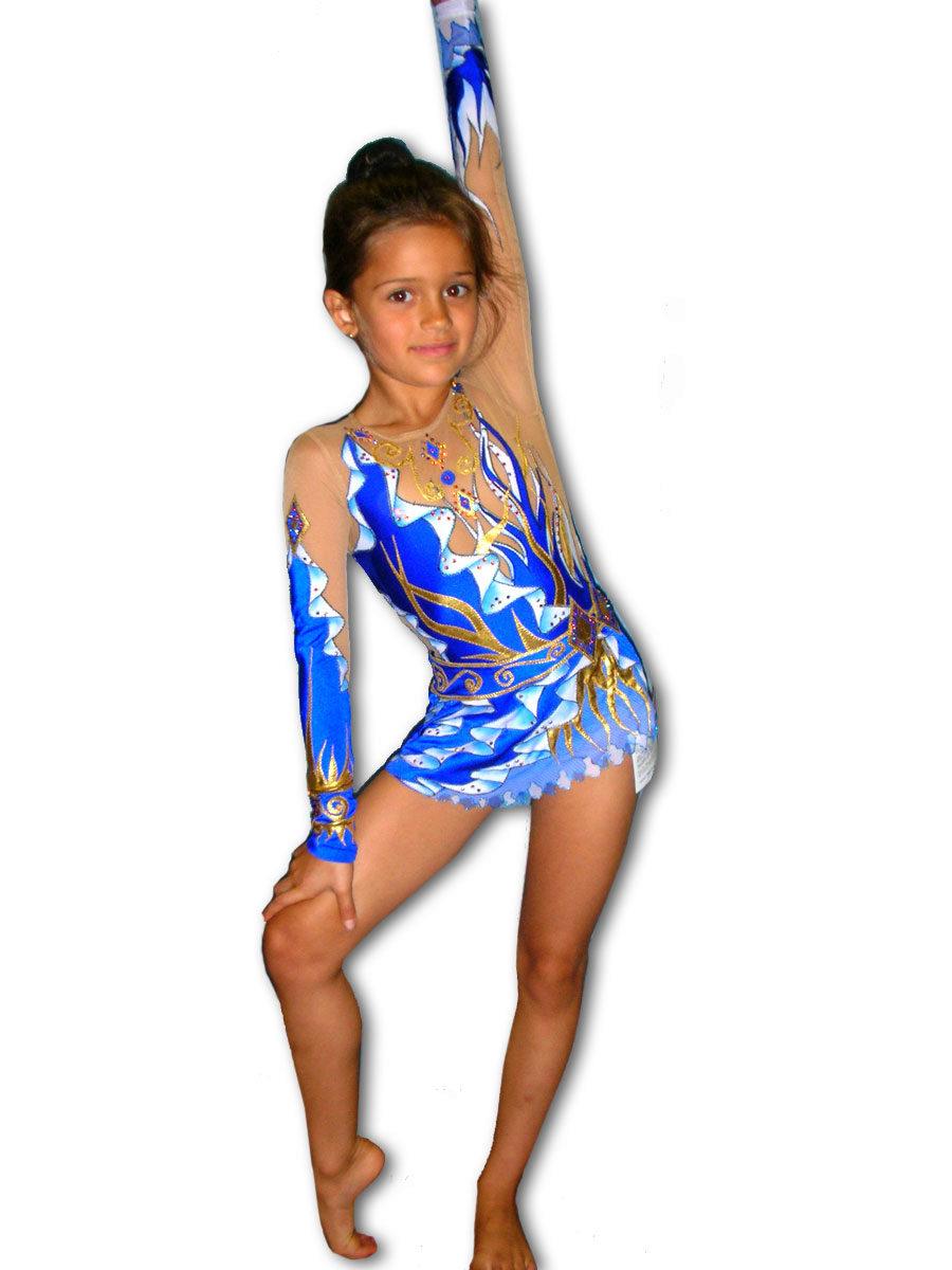 Как сделать гимнастический костюм своими руками 94