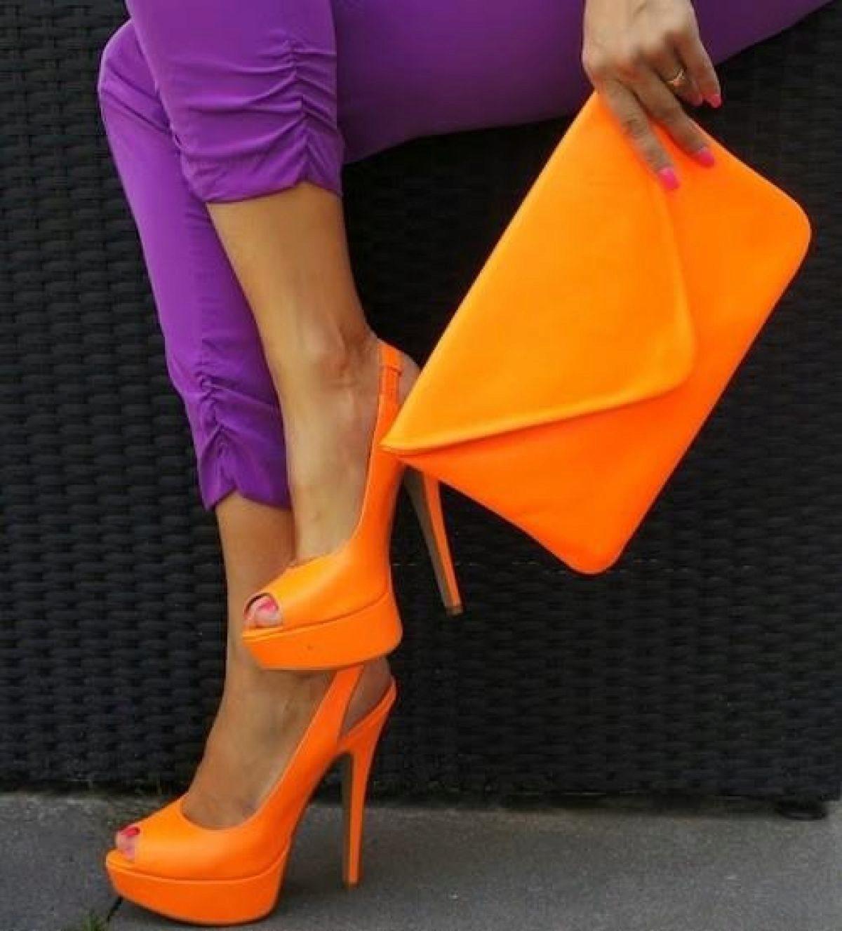 рамках во сне видеть оранжевые туфли на каблуке вашему вниманию