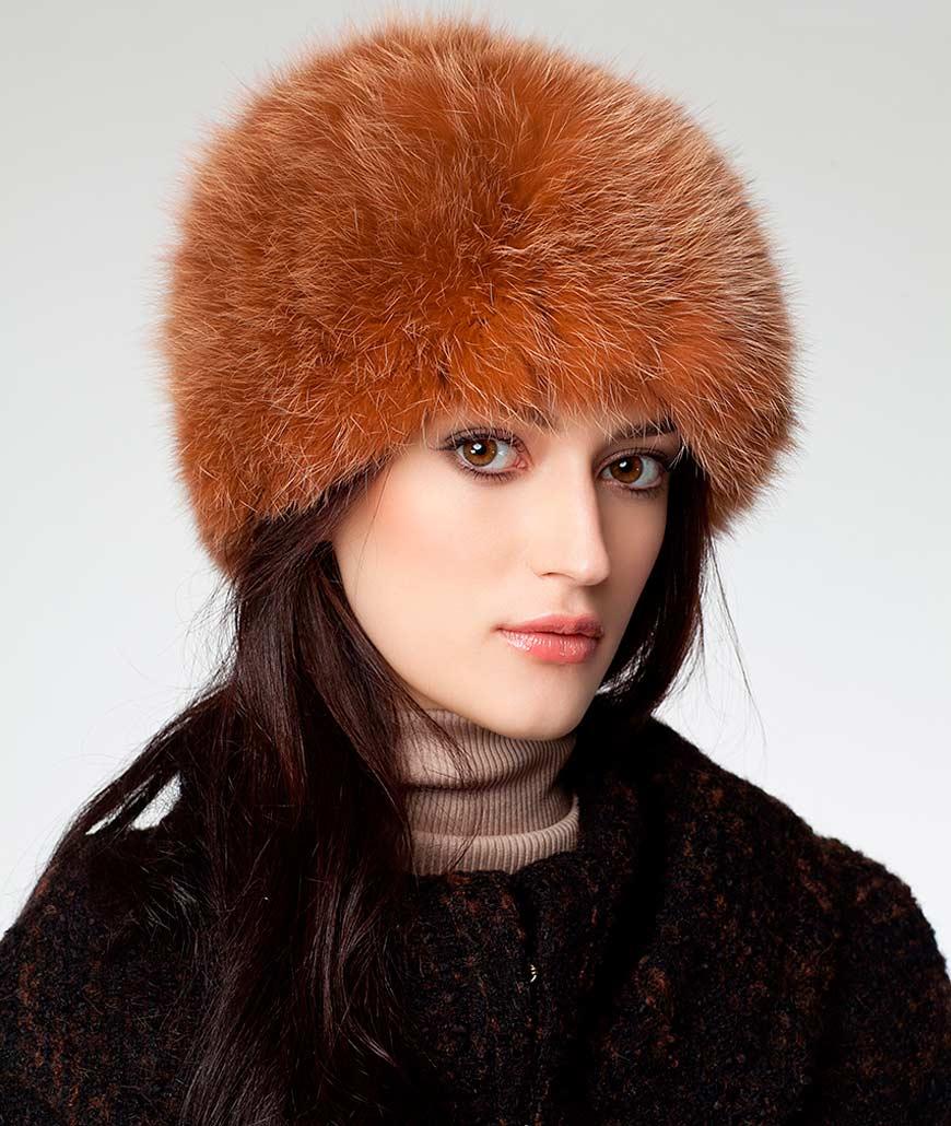 Фото женских зимних меховых шапок