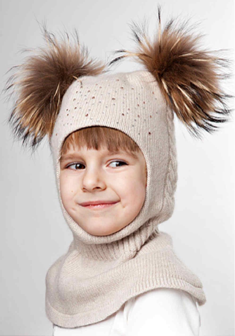 Шапка-шлем для девочки своими руками фото 14