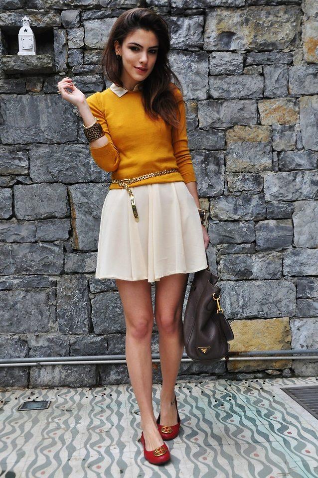 Платья и обувь без каблука