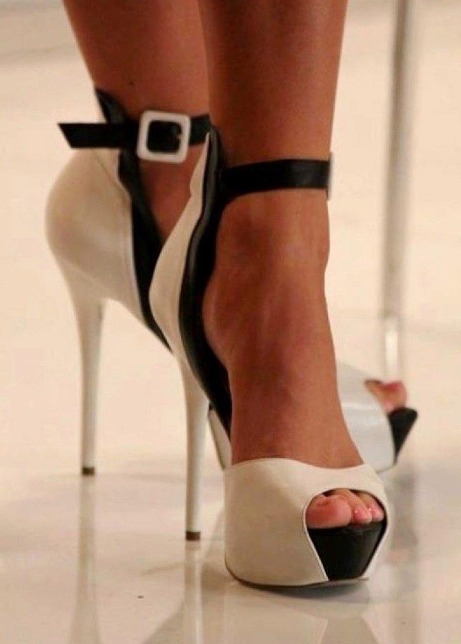 Туфли с открытым носом (56 фото)  можно ли носить женские туфли с ... 916e46e5b2994