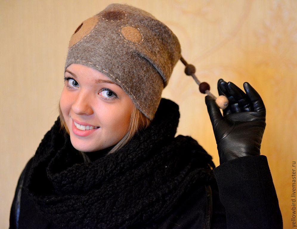 valyanye-shapki Валяные шапки (50 фото): модели в технике мокрое валяние из шерсти и войлока