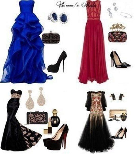 Обувь под платье в пол