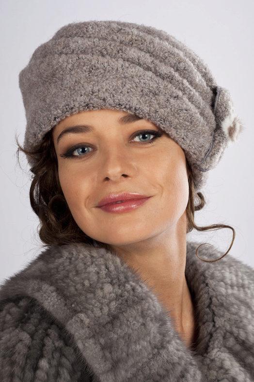 Модные вязаные шапки зима своими руками со схемами фото 472