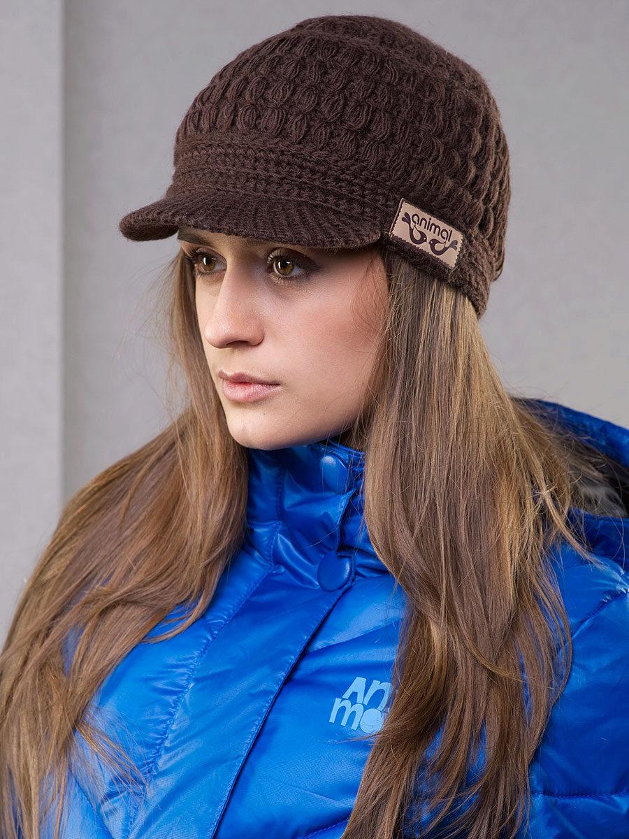 схема вязаная зимняя шапка бирюзового цвета