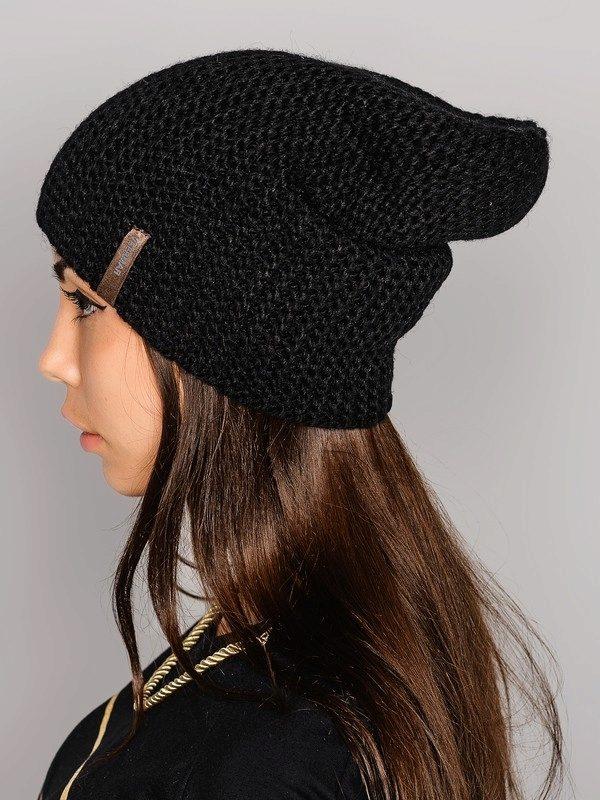 Вяжем шапку гандонку 32