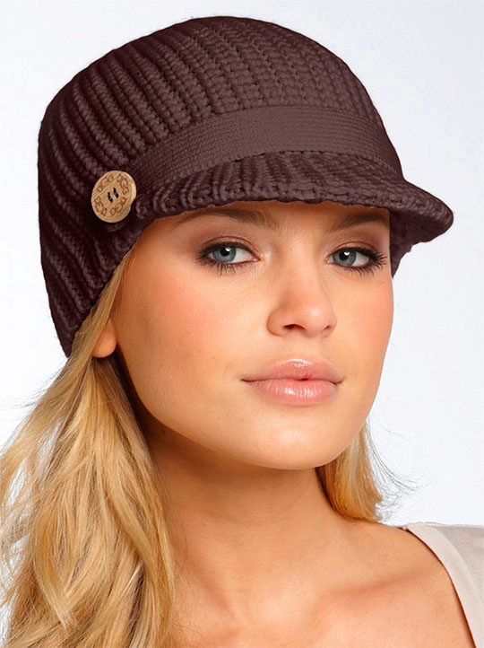 шапки из плюшевой пряжи фото