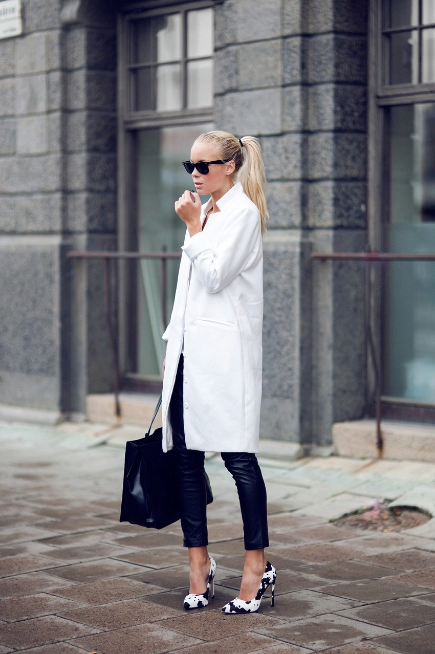 Black and white fashion trend 2018 36