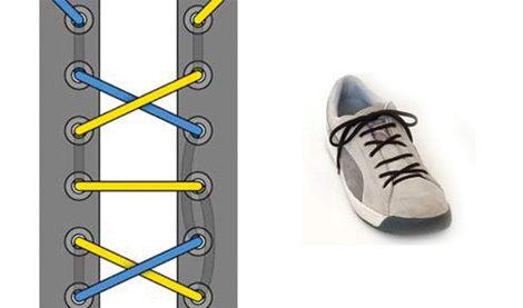 Как красиво завязать шнурок поэтапно