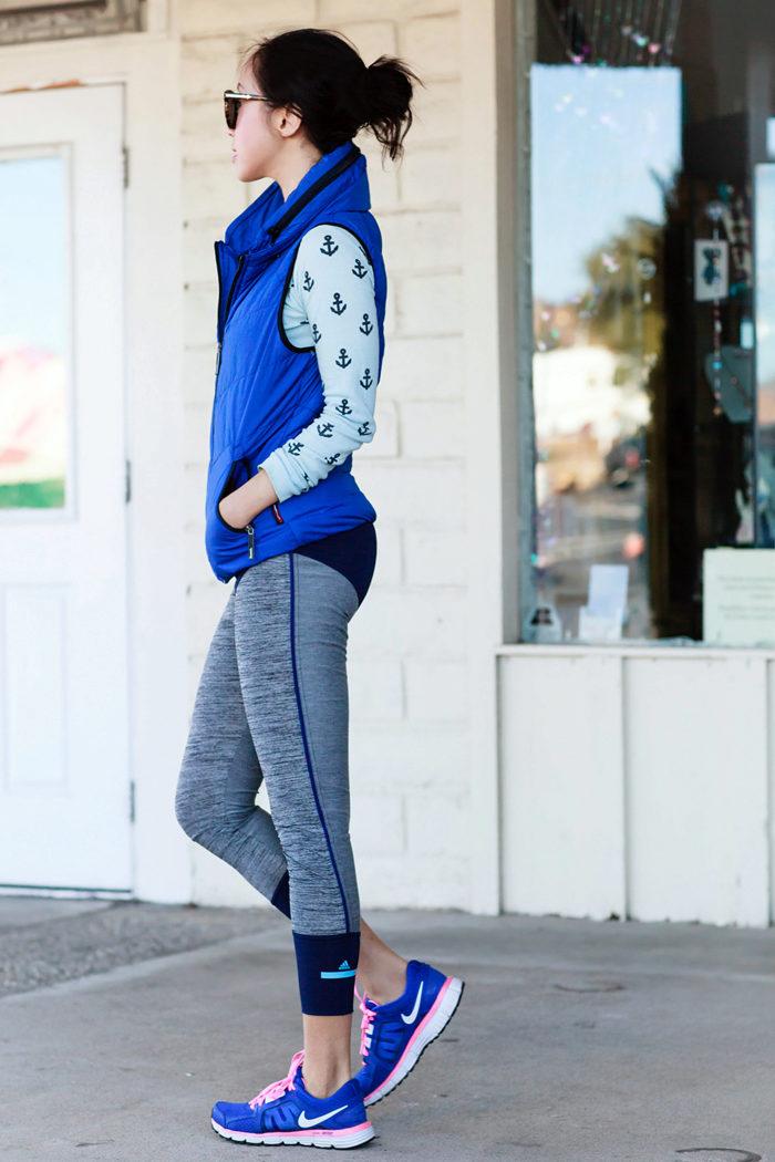 Синие кроссовки (69 фото с чем носить женские модели темно-синего)