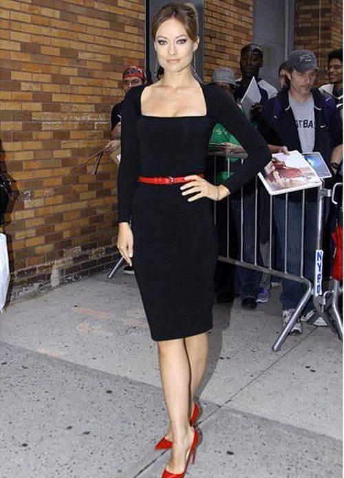 фото туфли к черному платью