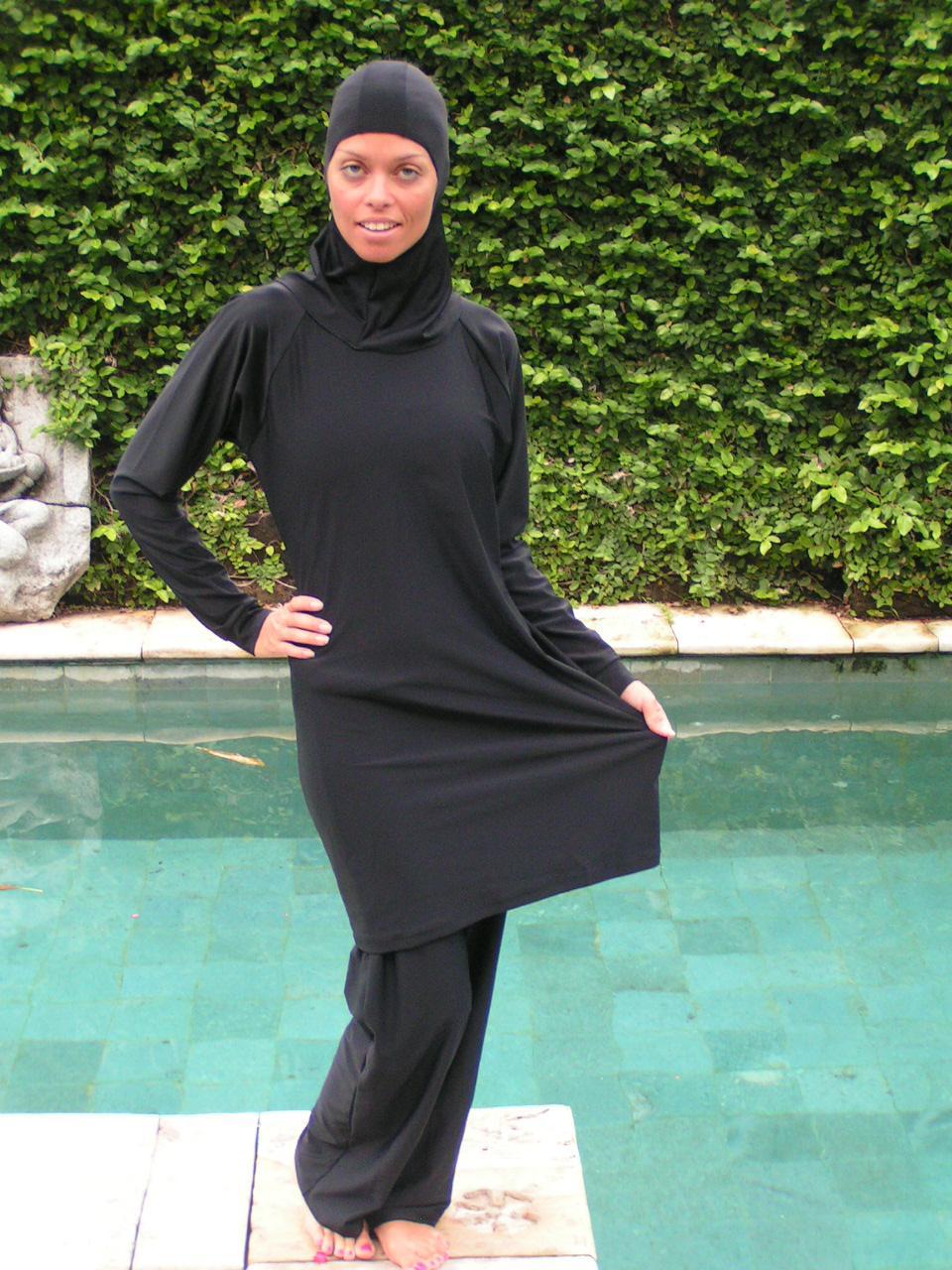 фото мусульманки купальный костюм