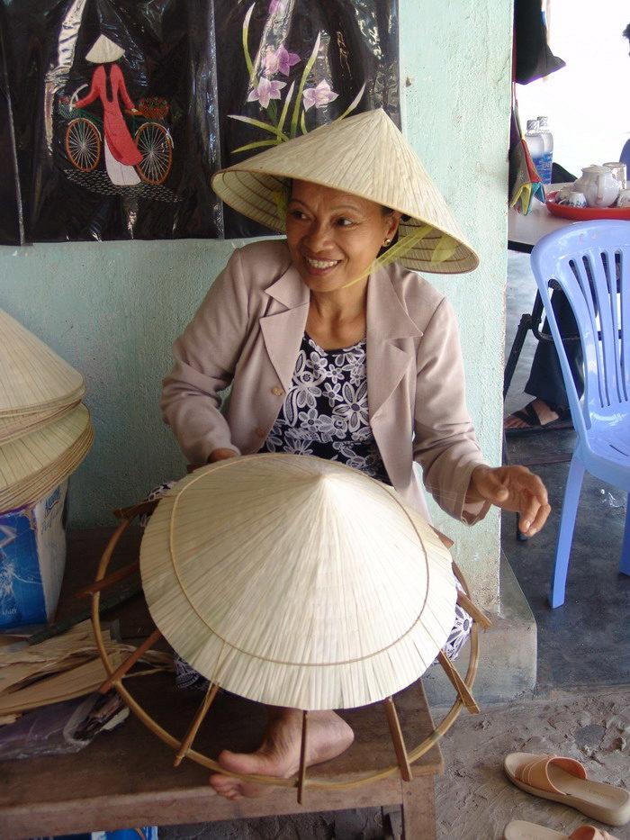 Вьетнамка головной убор своими руками 2