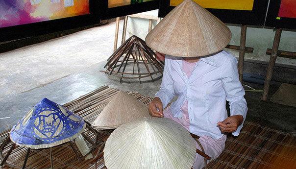 Вьетнамка головной убор своими руками 86