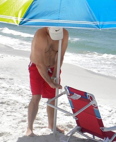 Зонт пляжный как сделать 109